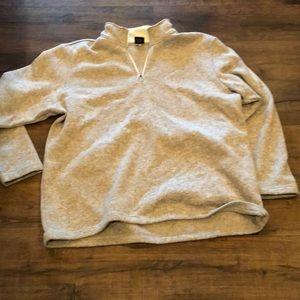 Quarter zip sweatshirt dressy